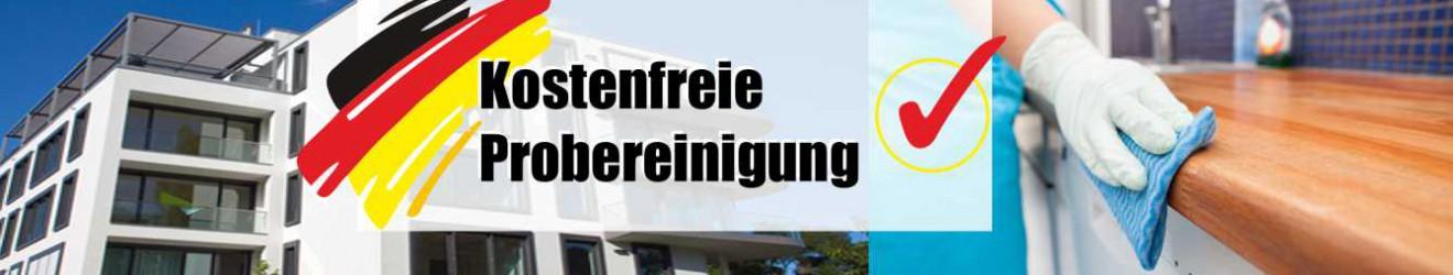 Kostenfreie Probereinigung, Gebäudereinigung in München, Gerpak